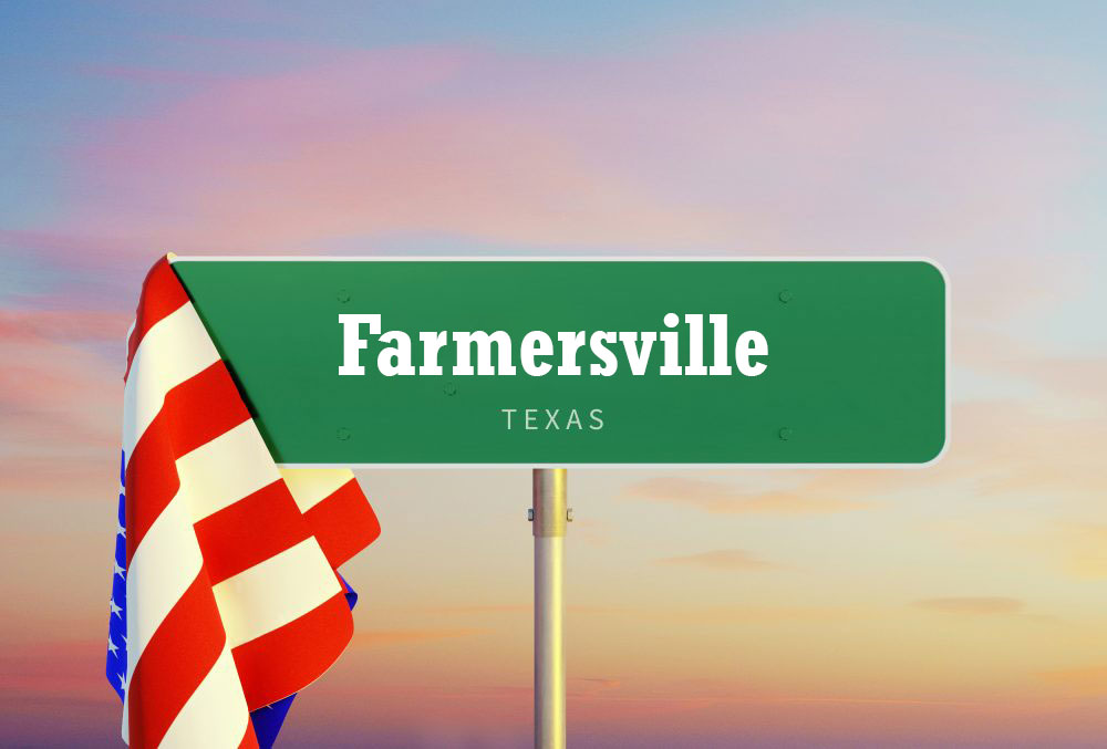 Spend time living in Farmersville, Texas