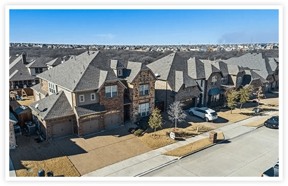 Spend time living in Little Elm, Texas